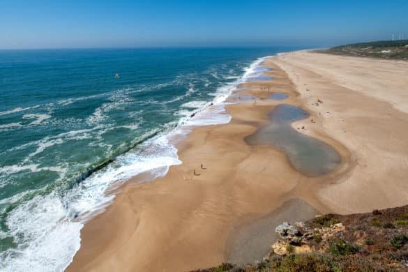 13 praias com areais a perder de vista