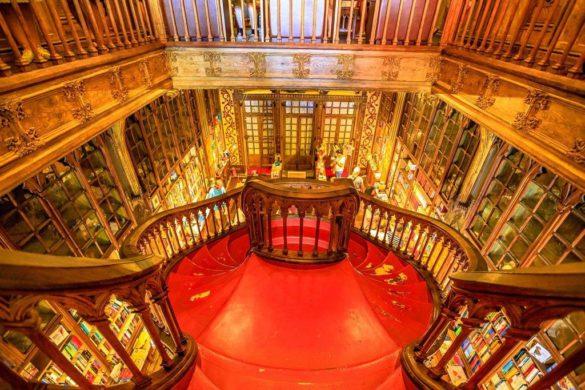 Lugares no Porto que inspiraram a saga Harry Potter