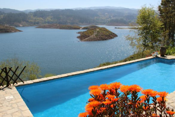 10 piscinas em casas de campo com as melhores vistas
