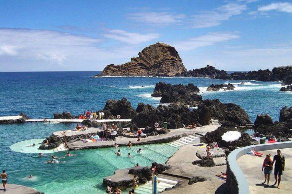 11 piscinas naturais que o farão esquecer a praia