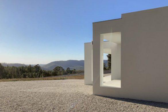 Casas de campo com arquitetura moderna