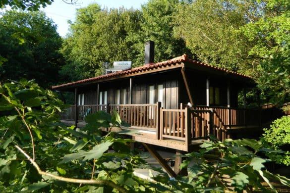 Casas de campo de madeira para uma maior conexão com a natureza