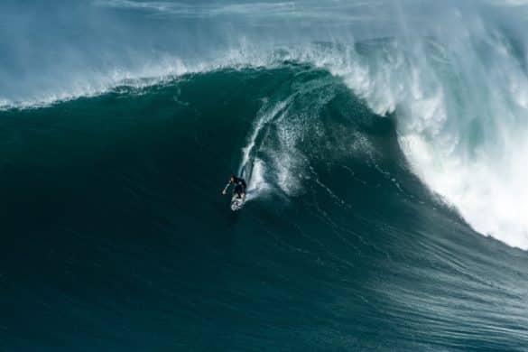 O fenómeno das ondas gigantes da Nazaré
