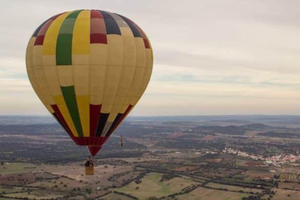 Volta a Portugal em balão de ar quente