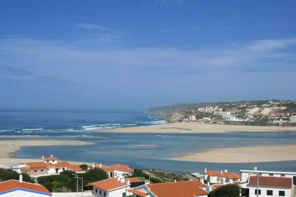 Lagoa de Óbidos, a maior lagoa de água salgada de Portugal